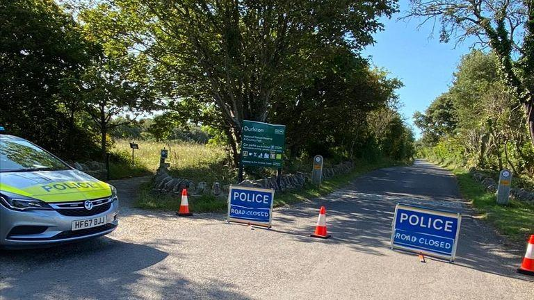 Police were called shortly after 8am. Pic: Purbeck Police