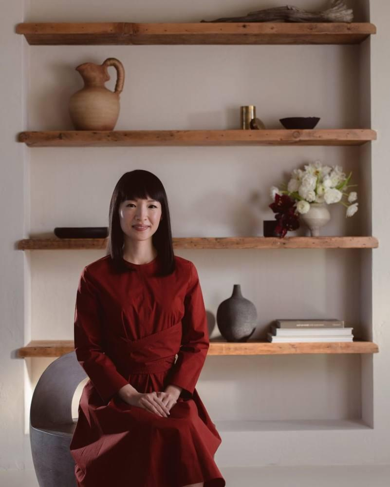 Marie Kondo became a global sensation by promoting her minimalistic lifestyle. Photo: Instagram