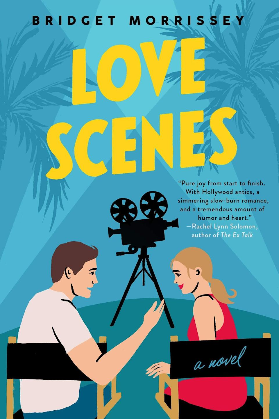 <p>After losing her TV gig, actress Sloane Ford agrees to step in as a producer on her family's World War II epic in <span><strong>Love Scenes</strong></span> by Bridget Morrissey. What her family doesn't tell her is the movie stars her former roguish co-star Joseph Donovan, who Sloane had hoped to never see again. </p> <p><em>Out June 22</em></p>