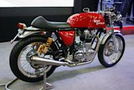 Royal Enfield's Cafe Racer is set for launch next year with a 535cc engine.
