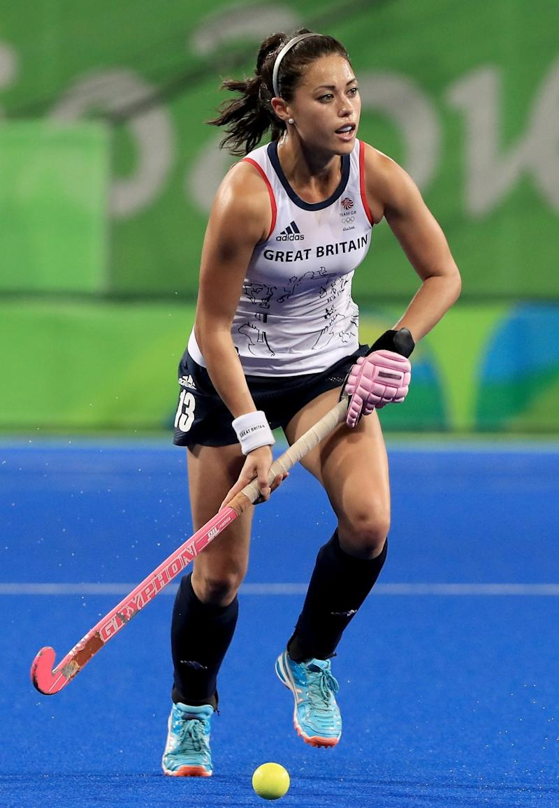 Samantha Quek playing for Great Britain (Getty Images)