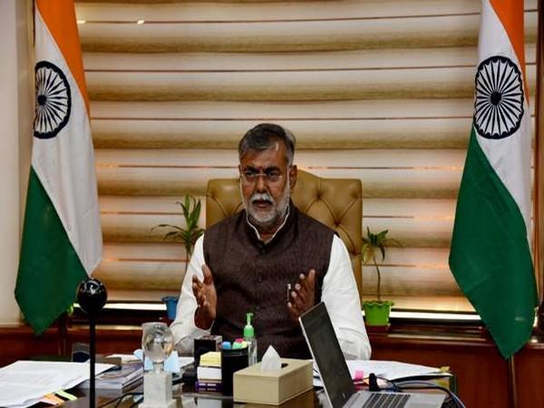 Union Minister of State for Tourism and Culture Prahlad Singh Patel. (Photo/ANI)