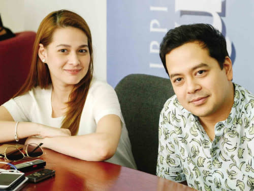 """The two stars first worked together in """"Kay Tagal Kang Hinintay"""""""