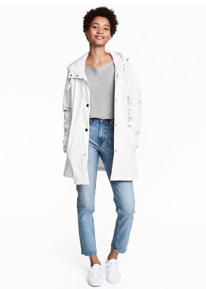 "H&M Rain Jacket, $59.99; at <a rel=""nofollow"" href=""http://www.hm.com/us/product/65407?article=65407-A"" rel="""">H&M</a>"