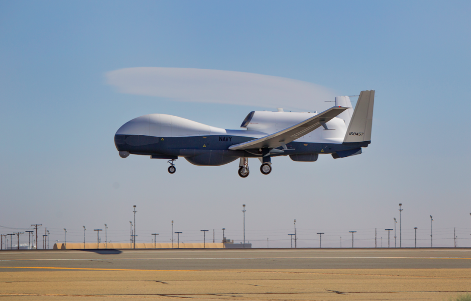 The US has confirmed Iran shot down a MQ-4C Triton drone over international waters (Wikipedia/file pic)