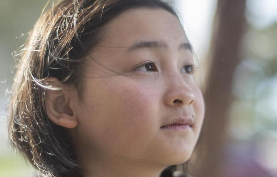 A Melbourne schoolgirl is being praised for her bravery after she called triple zero while a burglar ransacked her home. Source: News Corp