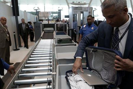 Enhanced airport security in US could end laptop ban