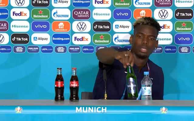 Euro 2020 officials agree not to place Heineken in front of Muslim players after Paul Pogba snub - PA