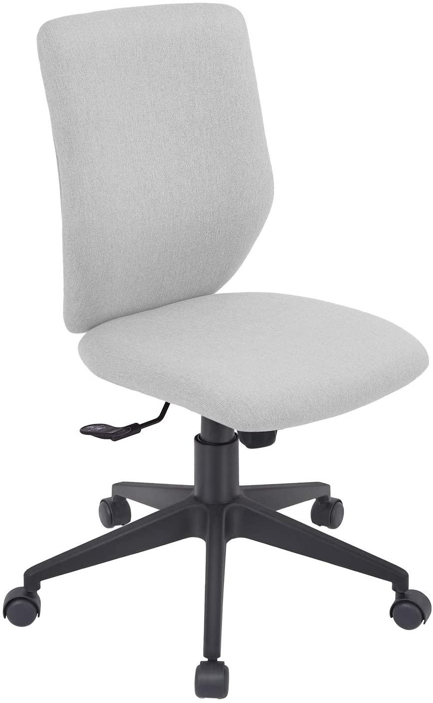 Bowthy Ergonomic Armless Office Chair (Photo via Amazon)
