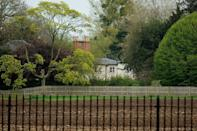 """<p>The former home of the Duke and Duchess of Sussex, <a href=""""https://www.townandcountrymag.com/society/tradition/a25295234/prince-harry-meghan-markle-frogmore-cottage-windsor-home/"""" rel=""""nofollow noopener"""" target=""""_blank"""" data-ylk=""""slk:Frogmore Cottage"""" class=""""link rapid-noclick-resp"""">Frogmore Cottage</a> shares the same grounds as Frogmore House. The cottage was built in 1801 under the direction of Queen Charlotte. The home is only a half mile away from Windsor Castle, where Prince Harry and Meghan Markle were married.</p>"""