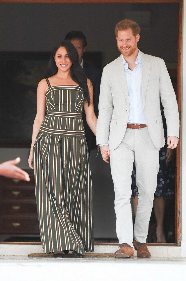 Meghan Markle Prince Harry South Africa