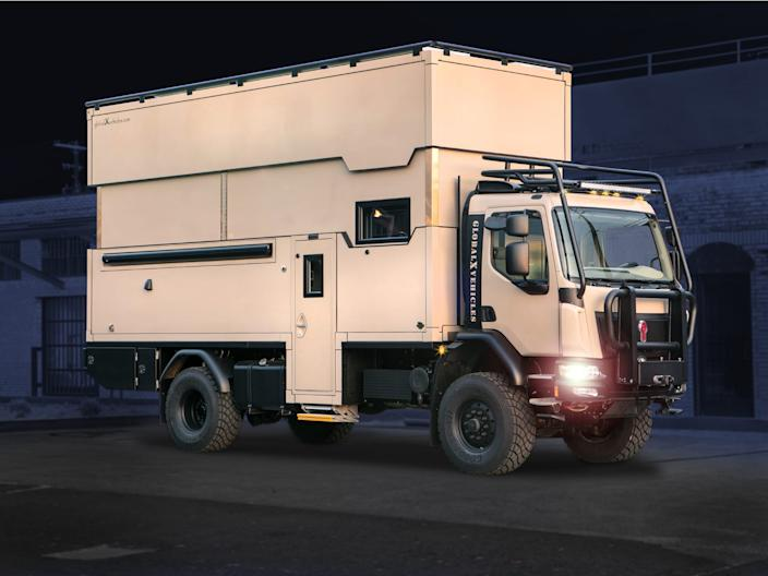 The Pangea from Global Expedition Vehicles. 4