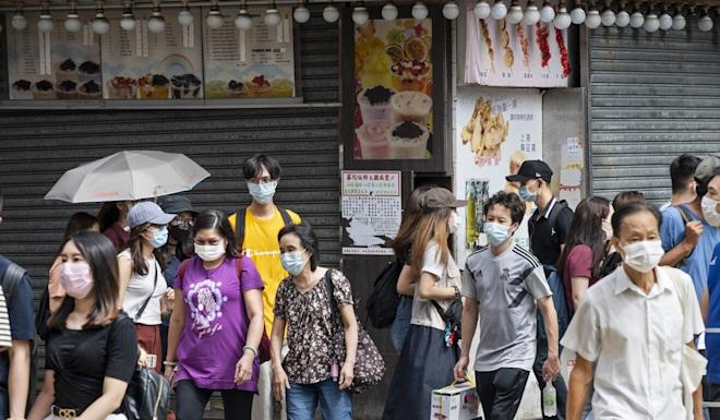 Hong Kong companies and brands have struggled to keep their businesses open due to the impact of Covid-19 on tourism, unemployment and consumer spending. Photo: EPA-EFE
