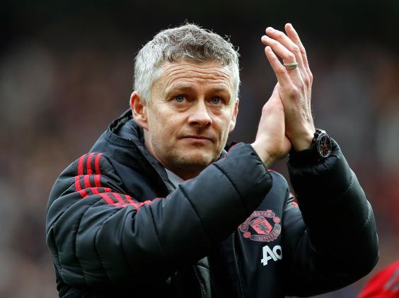 Ole Gunnar Solskjaer replaced Jose Mourinho as Manchester United manager (PA)