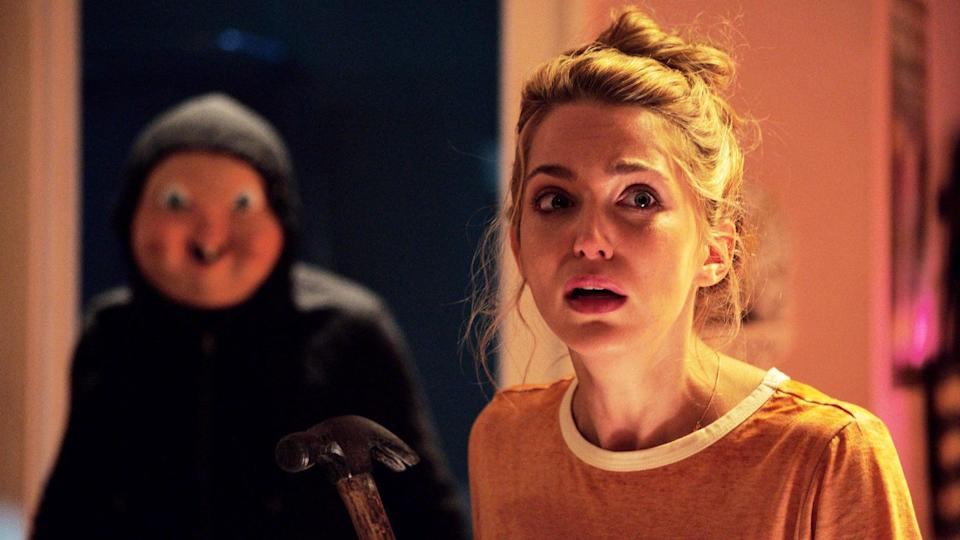 <p>In this <strong>Groundhog Day</strong>-esque slasher flick, a college student who is murdered on her birthday must live the day over and over until she successfully unmasks and stops her killer. You'll also find the <span>sequel to this one, <strong>Happy Death Day 2U</strong></span>, on Amazon Prime. </p> <p><span>Watch <strong>Happy Death Day </strong>on Amazon Prime</span>. </p>