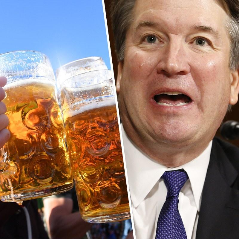 fc77d7f0973 Brett Kavanaugh Mentioned Beer 30 Times During the Senate Hearing. But Why