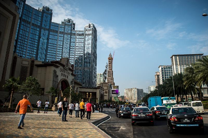 Australian casino operator Crown Resorts has suffered from weakening demand in Macau following a Chinese corruption crackdown (AFP Photo/Philippe Lopez)