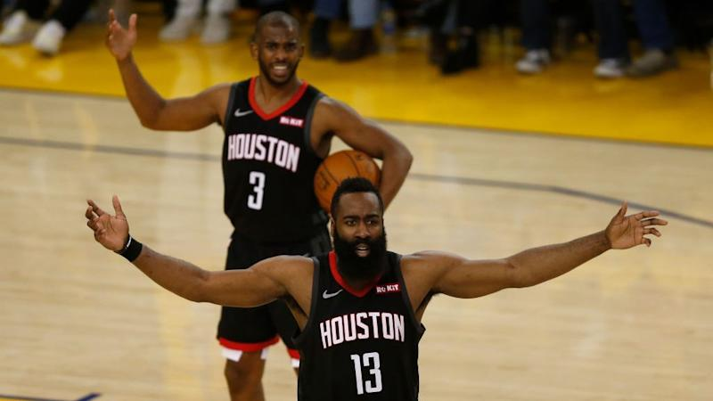 Harden, Paul had 'verbal' back-and-forth after Game 6 loss