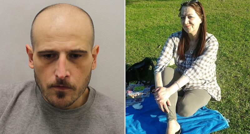 Kristian Smith, left, and Antoinette Donegan, right. (Met Police)