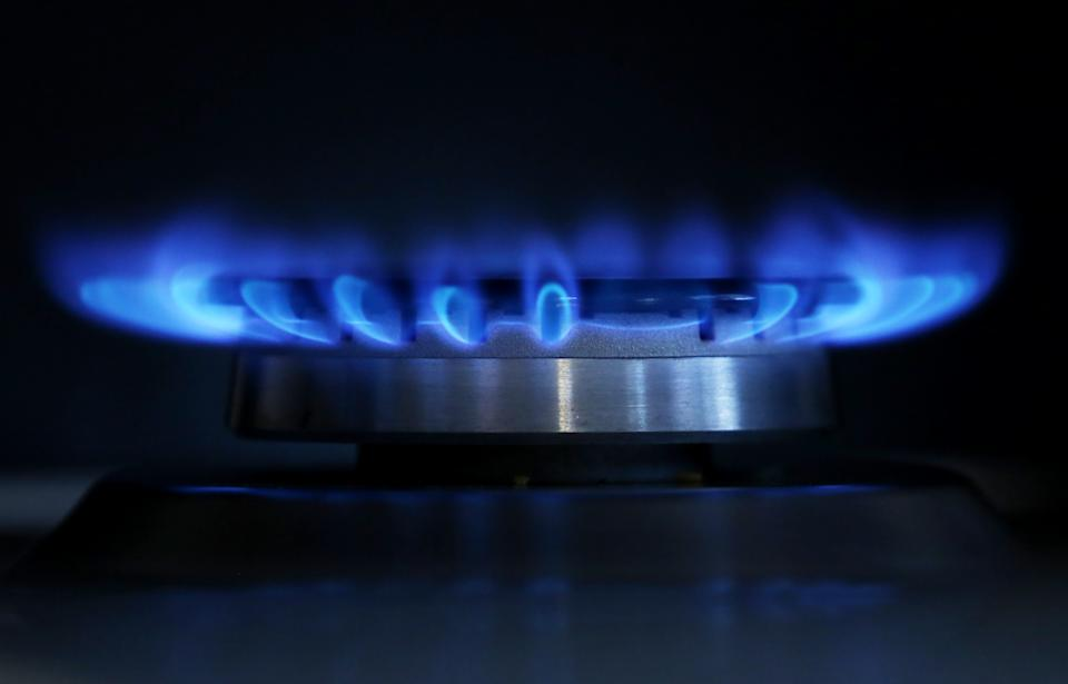 A general view of a gas hob burning as consumer groups are predicting that the UK's other major energy suppliers will raise prices after SSE announced an 8.2% increase in domestic bills.   (Photo by Gareth Fuller/PA Images via Getty Images)