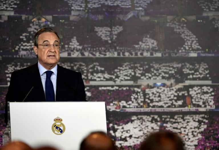 "Real Madrid president, Florentino Perez, told a press conference at the Santiago Bernabeu staduim, ""Ronaldo is a lot more powerful and more important than all of us who are here"""