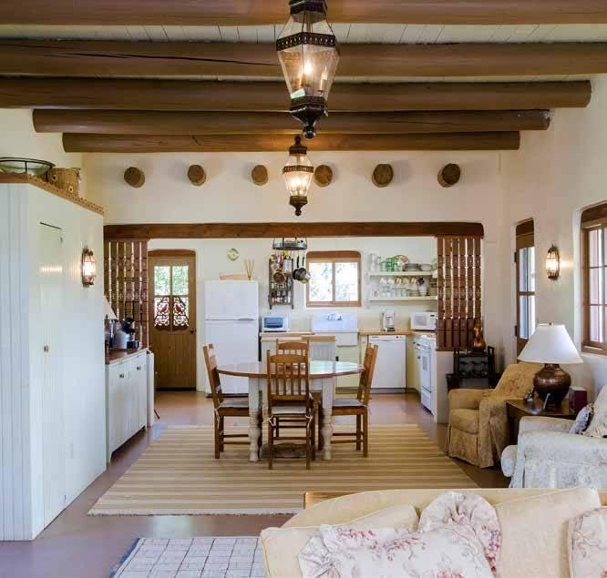 """<p>The four-bedroom guest house has about 2,125 square feet of living space. <i>(Photo: <a href=""""http://bit.ly/1oZ16Zz"""" rel=""""nofollow noopener"""" target=""""_blank"""" data-ylk=""""slk:Swan Land Company"""" class=""""link rapid-noclick-resp"""">Swan Land Company</a>)</i><br></p>"""