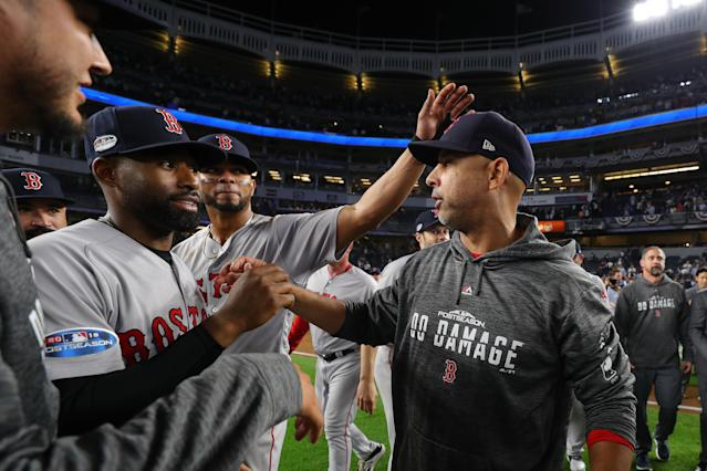 Rookie manager Alex Cora has gained the trust and respect of the Boston Red Sox. (Getty Images)