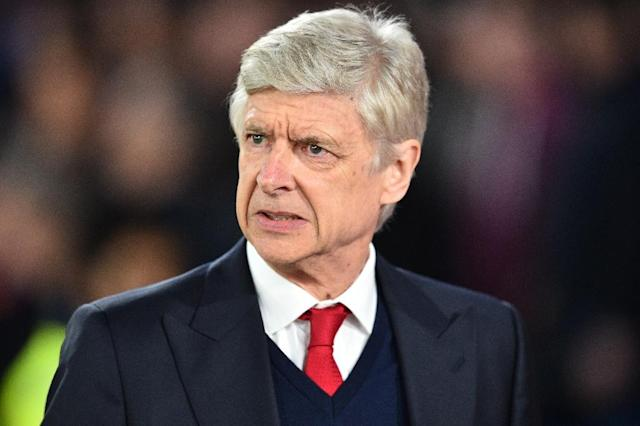 Wenger's Arsenal side were left 10 points off a place among the top four after Manchester City's victory at Southampton followed by Liverpool's win at West Bromwich Albion (AFP Photo/Glyn KIRK)