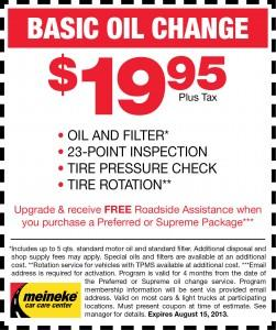 Meineke Oil Change >> How I Turned Local Business Freebies Into 2k Per Month Revenue