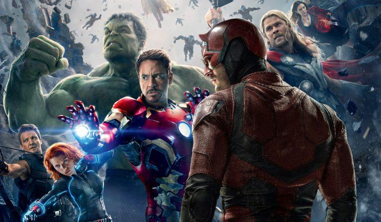 Could Daredevil team up with The Avengers one day? Credit: Marvel