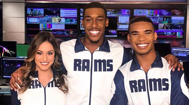 Rams' Male Cheerleaders to Make History with Super Bowl Appearance