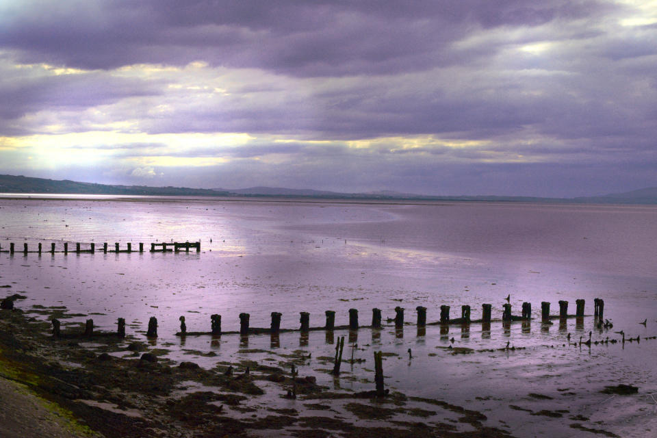 Feast your eyes on the Foyle Estuary on the Derry to Coleraine train (Getty Images)
