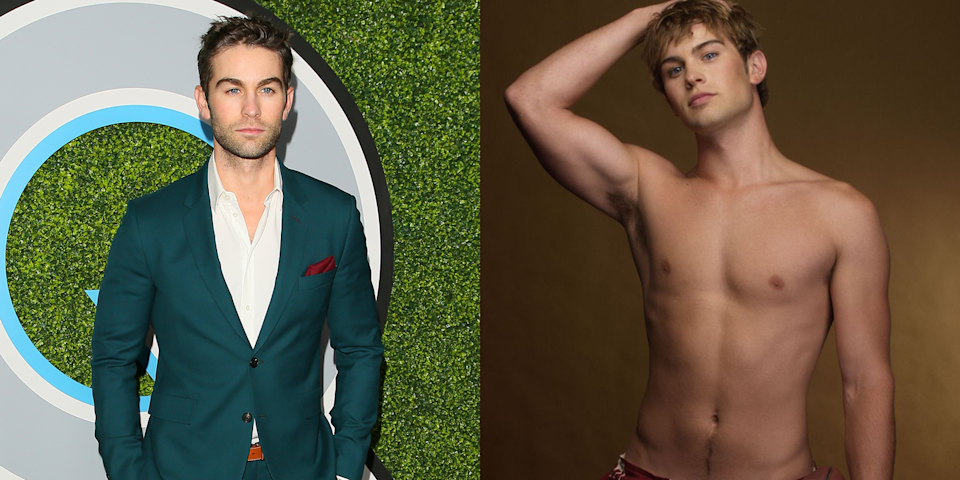 <p>Okay, this was really just a good excuse to put a photo of young, shirtless Chace Crawford in this gallery. Before landing the role of Nate Archibald on <em>Gossip Girl</em>, Chace worked as a model for Abercrombie & Fitch. </p>