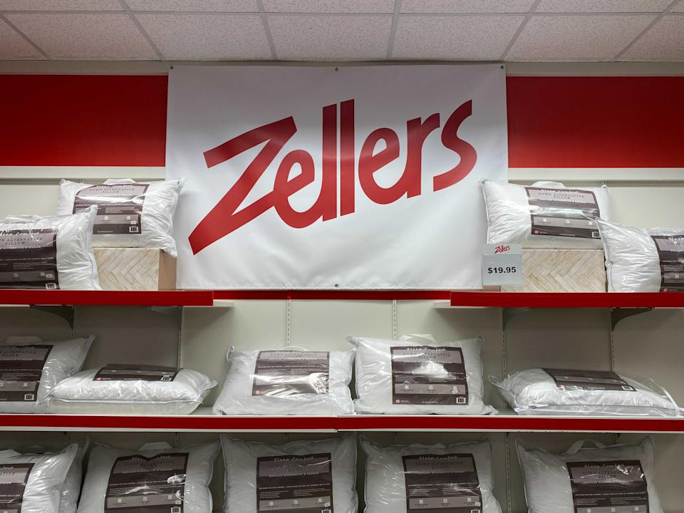 HBC has opened a Zellers-themed pop-up store in one of its Hudson's Bay locations.