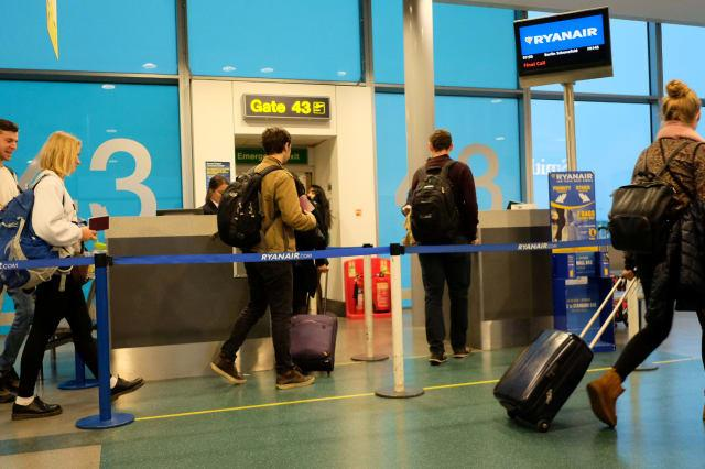 Ryanair's new £5 charge for two carry-on bags starts in January