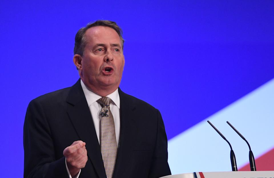 Former International Trade Secretary Liam Fox has been a life long supporter of Brexit. (PA)