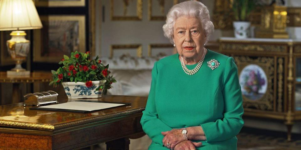"<p>Via video message, the Queen gives a comforting message amid the coronavirus pandemic, saying, ""We should take comfort that while we may have more still to endure, better days will return.""</p>"