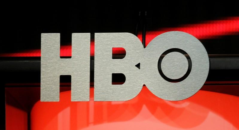 FILE PHOTO: The logo for HBO is pictured during the HBO presentation at the cable portion of the Television Critics Association Summer press tour in Beverly Hills