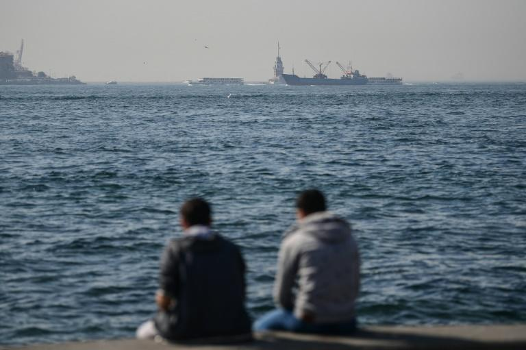 The Bosphorus is among the world's busiest shipping lanes