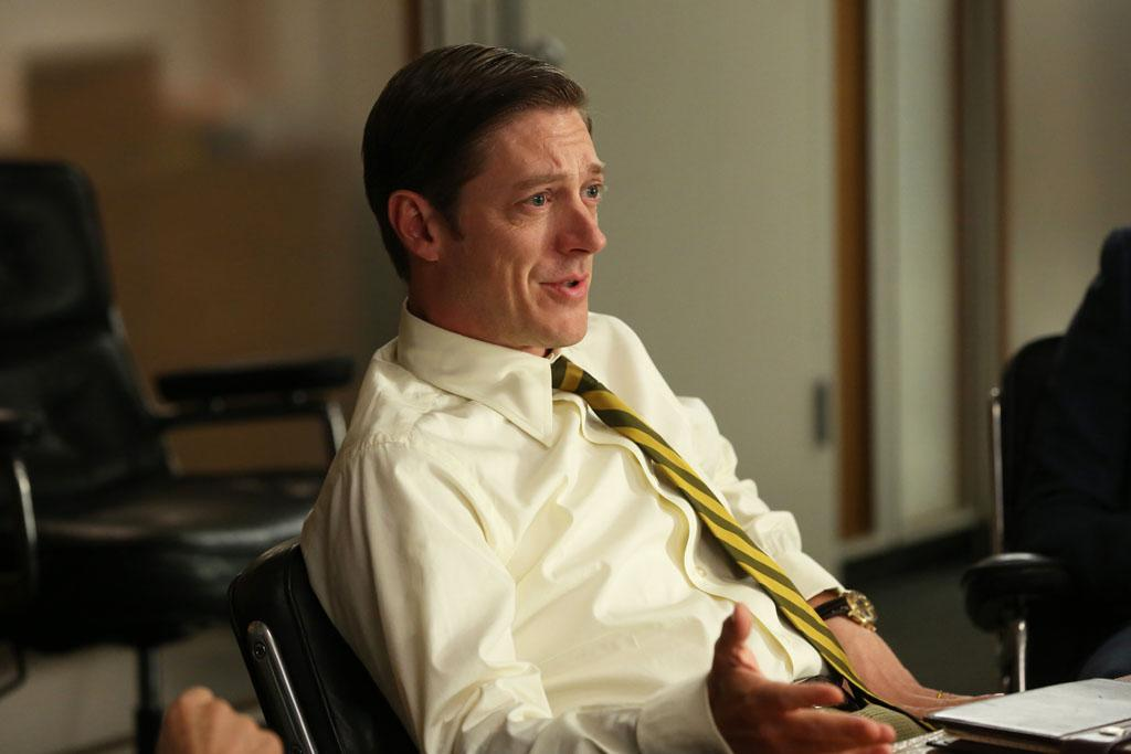 "Ted Chaough (Kevin Rahm) in the ""Mad Men"" episode, ""A Tale of Two Cities."""