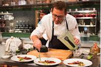 """<p>Even on a time crunch, contestants have to make two plates: One for the judge's table and one for the camera crew to film close-up shots, a 2007 <a href=""""https://www.nydailynews.com/life-style/eats/lowdown-making-top-chef-article-1.225838"""" rel=""""nofollow noopener"""" target=""""_blank"""" data-ylk=""""slk:New York Daily News"""" class=""""link rapid-noclick-resp""""><em>New York Daily News</em></a> profile revealed. </p>"""