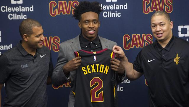 Collin Sexton endeared himself to the Cavaliers with his competitive streak, speed and attitude long before they picked him in the NBA draft.