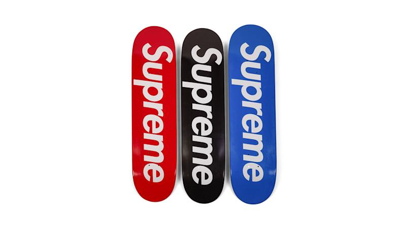 45fe6241 A Complete Set of Supreme Skate Decks is Expected to Sell for up to $1.2  Million