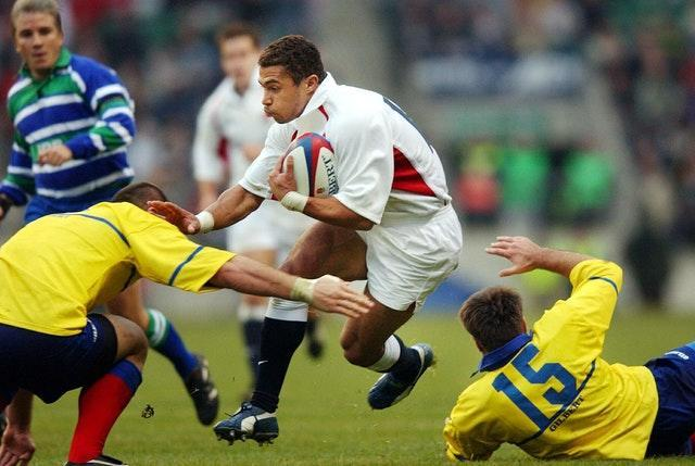 Jason Robinson also proved difficult for the Romanians to handle