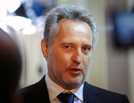 Firtash, one of Ukraine's richest men, is seen in Kiev