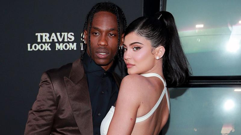 Image result for images of Kylie Jenner and Travis Scott reunite 2-months after they took a break from their relationship