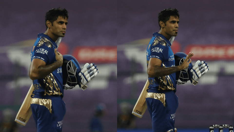Suryakumar Yadav once again played a solid match-winning game for Mumbai Indians.