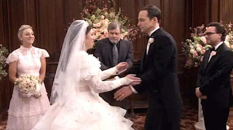 Mark Hamill Weds Sheldon And Amy On 'Big Bang Theory,' Fans Geek Out