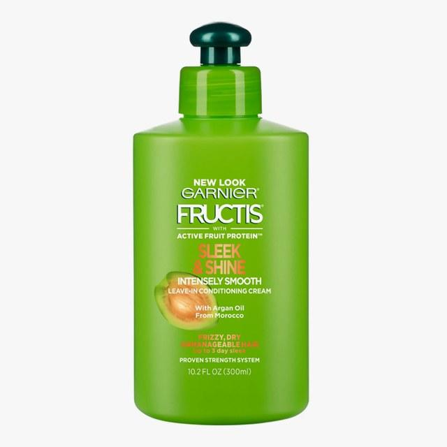 Garnier Fructis Sleek & Shine Intensely Smooth Leave-In Conditioning Cream, $3.99, target.com