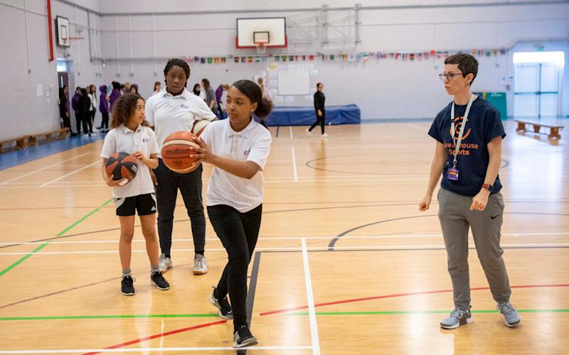 Jeremy Wilson feature on school as part of Girls Inspired campaign looking at school PE for girls. - Paul Grover